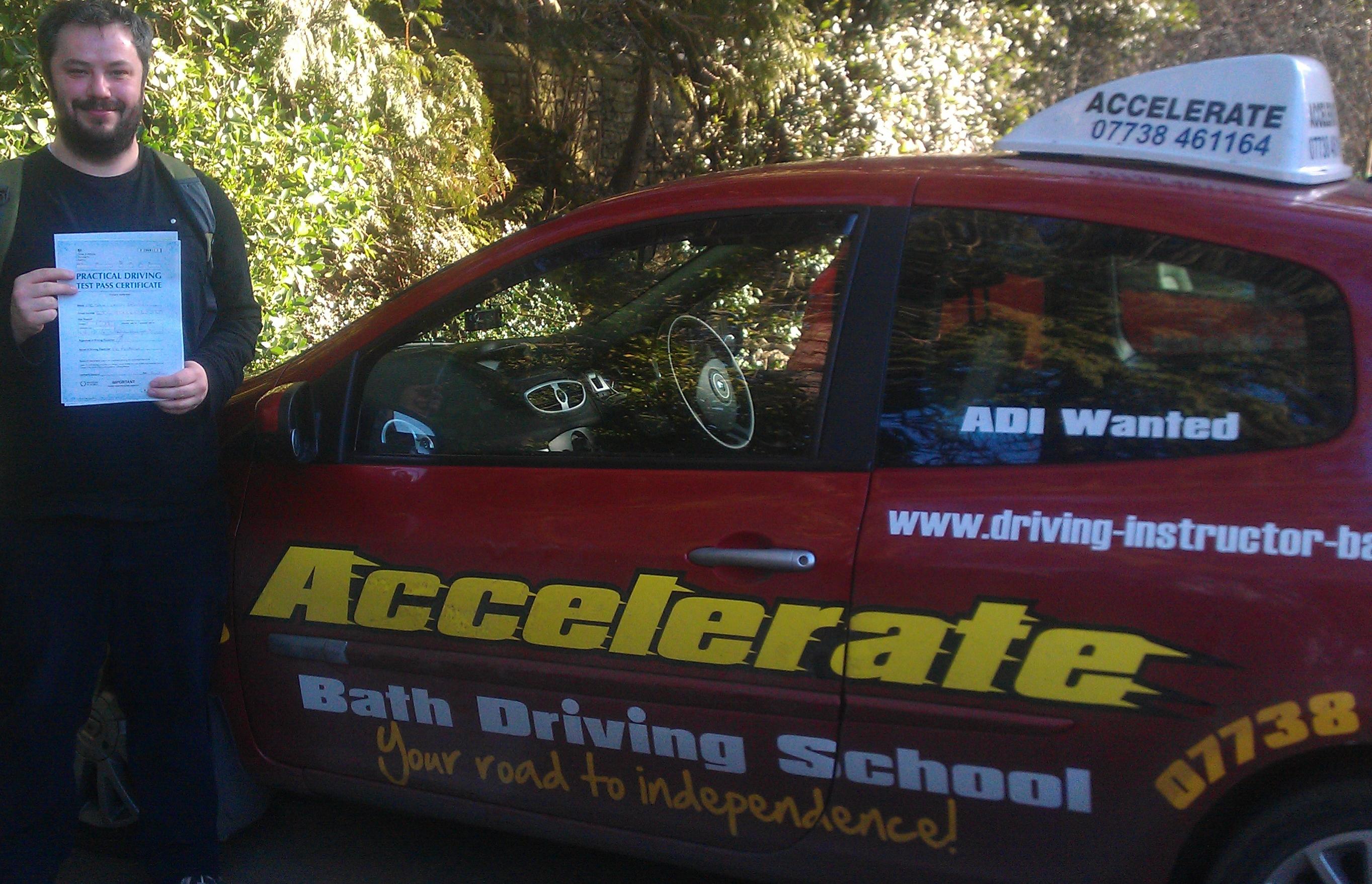 Driving Schools Bath Accelerate Bath Driving School