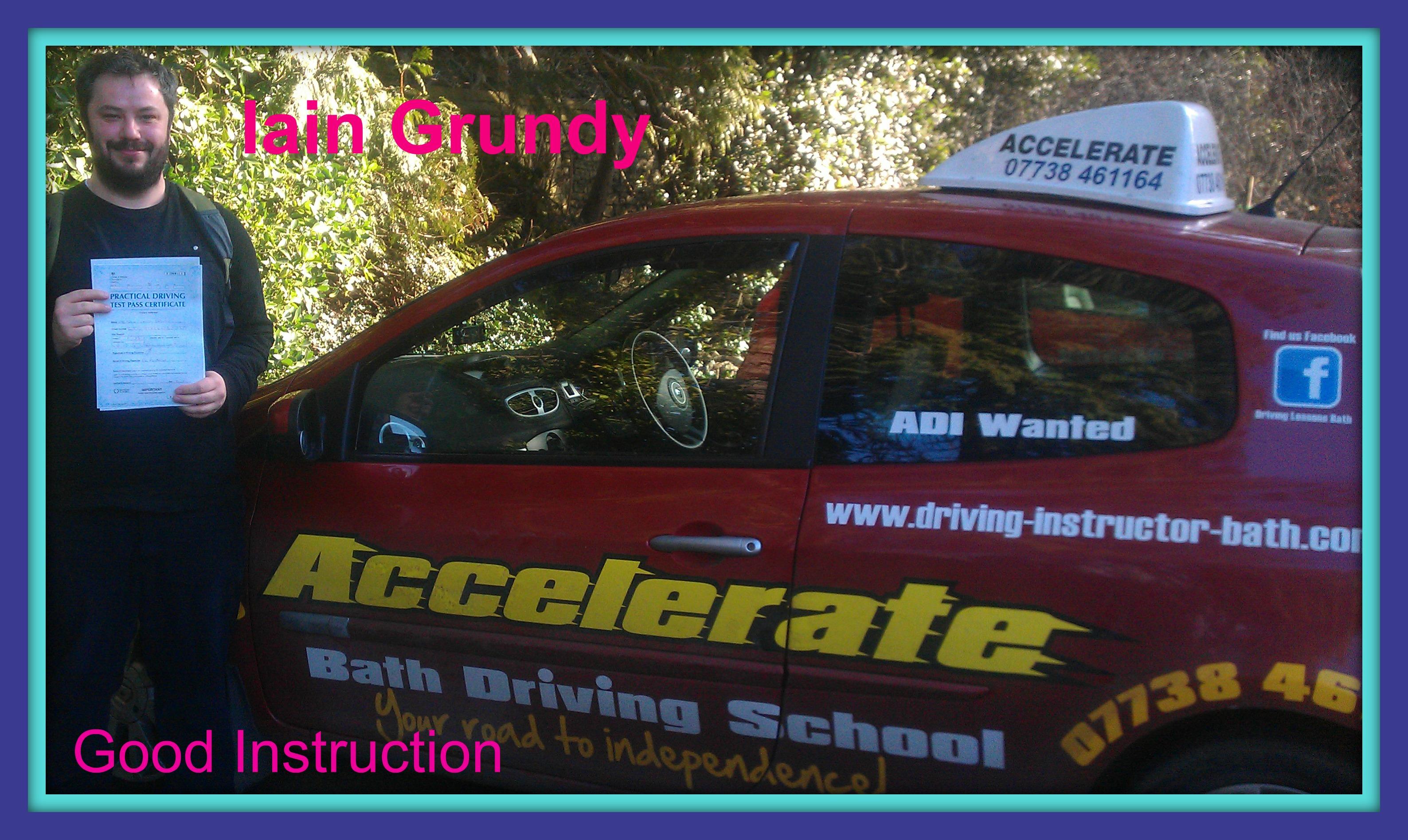 driving Instructors bath accelerate driving school